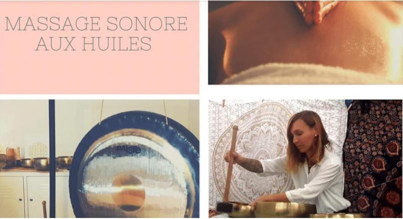 massage sonore et aux huiles